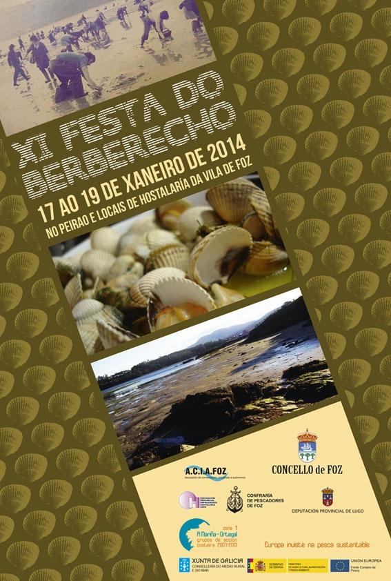 Cartel da XI Festa do Berberecho